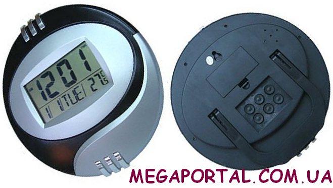 Cамі надійні настінні та настільні годинники з великим дисплеєм без  живлення від мережі. 80b2451fc24f1